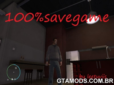 Savegame 100% GTA IV